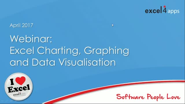 Excel Charting, Graphing and Data Visualisation