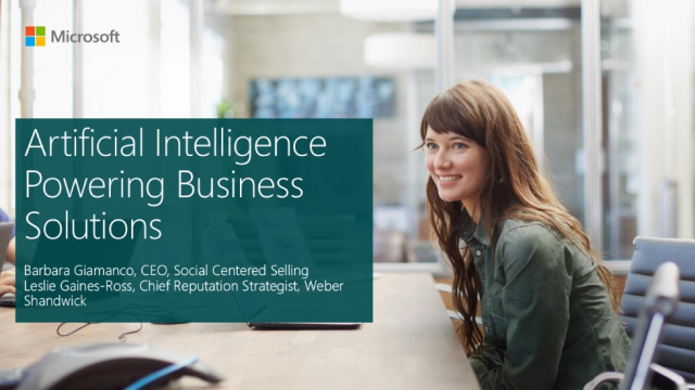 Artificial Intelligence Powering Business Solutions