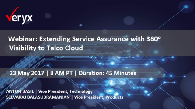 Extending Real-time Service Assurance with 360o Visibility to Telco Cloud
