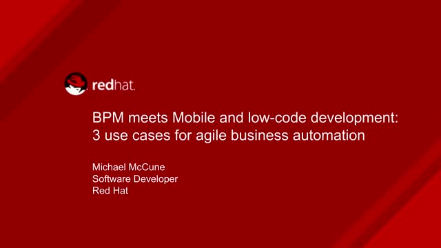 How Mobile & Low-Code AppDev Aid Agile Business Process Management