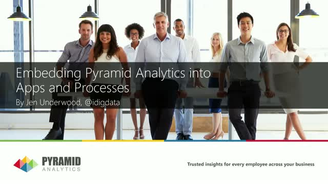 Embedding Pyramid Analytics into Apps and Processes