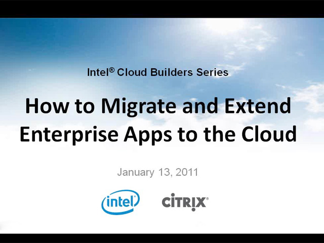 How to Migrate and Extend Enterprise Apps to the Cloud