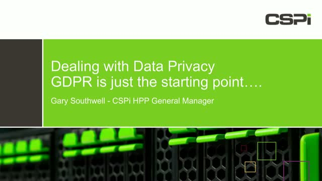 Are You Prepared for Global Data Privacy and GDPR?