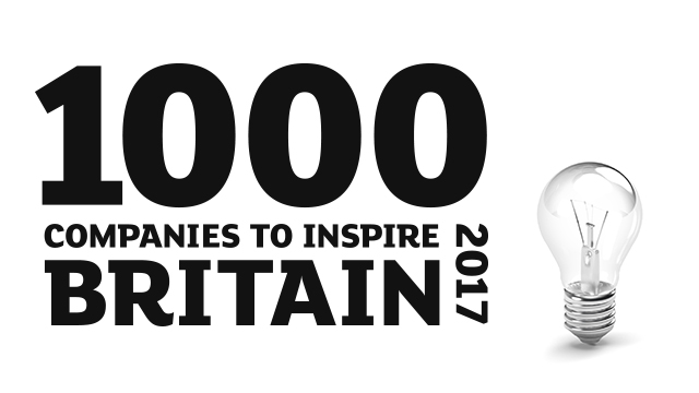 Join us for the launch of 1000 Companies to Inspire Britain, 2017