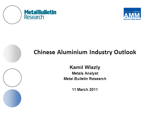 Chinese Aluminium Market: Outlook for 2011