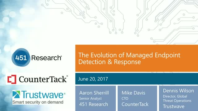The Evolution of Managed Endpoint Detection & Response