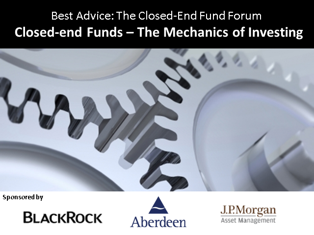 Closed-end Funds – The Mechanics of Investing