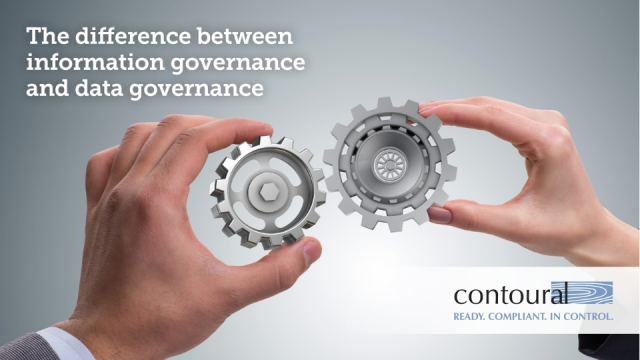 The Difference Between Information Governance and Data Governance