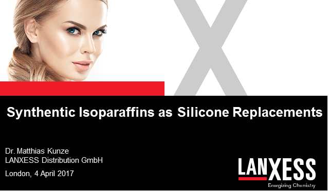 Synthentic isoparaffins as silicone replacements