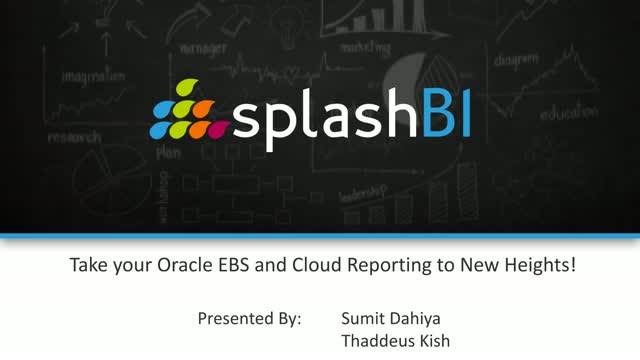 Take your Oracle EBS and Cloud Reporting to New Heights!