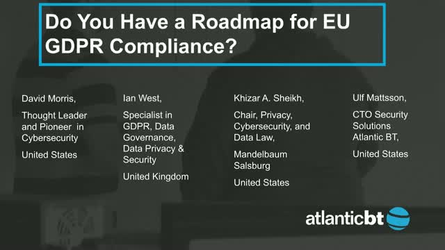 Do You Have a Roadmap for EU GDPR Compliance?