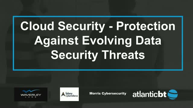 Cloud Security - Protection Against Evolving Data Security Threats