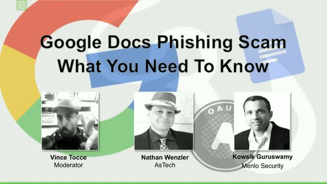 Google Docs Phishing Scam - What You Need To Know