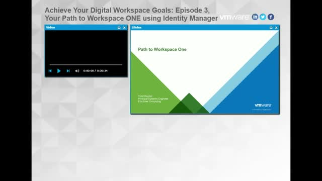 Meet Your Digital Workspace Goals E3: Path to WorkspaceONE using Identity