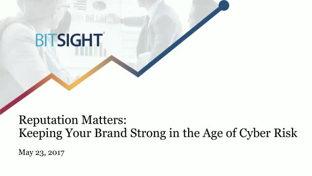 Reputation Matters: Keeping Your Brand Strong in the Age of Cyber Risk
