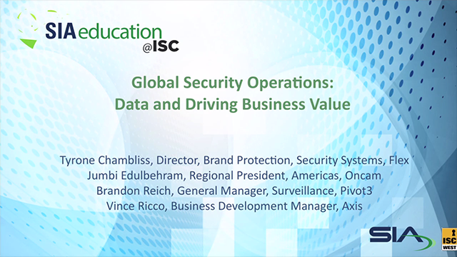 Global Security Operations: Data and Driving Business Value