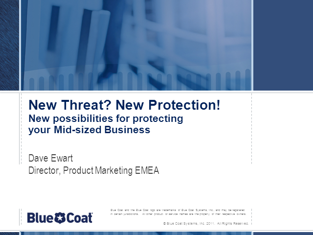 New Ways to Protect your Business from Web Threats