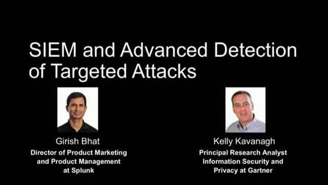 Splunk and Gartner: Use an Analytics-Driven SIEM for Targeted Attack Detection
