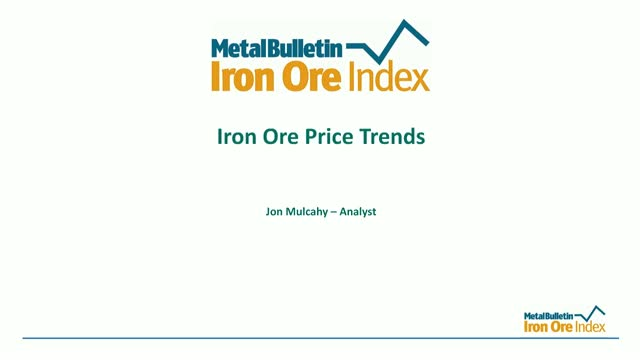 Iron Ore Price Trends