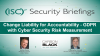 Change Liability for Accountability - GDPR with Cyber Security Risk Measurement