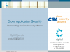 Cloud Application Security