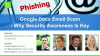 Google Docs Email Scam - Why Security Awareness Is Key