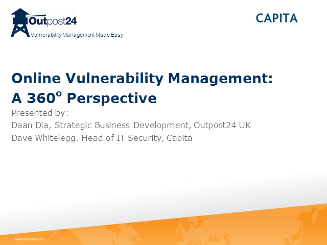 Online Vulnerability Management: A 360° Perspective