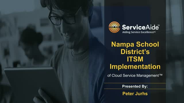Nampa School District achieved high standards for IT Service Management.