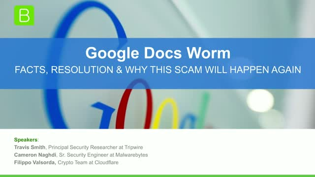 Google Docs Worm - Facts, Resolution & Why This Scam Will Happen Again