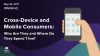 Cross-Device and Mobile Consumers: Who Are They and Where Do They Spend Time?