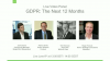 [Video Panel] GDPR: The Next 12 Months