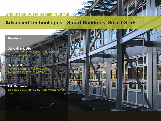 New Advanced Intelligence – Smart Buildings, Smart Grids