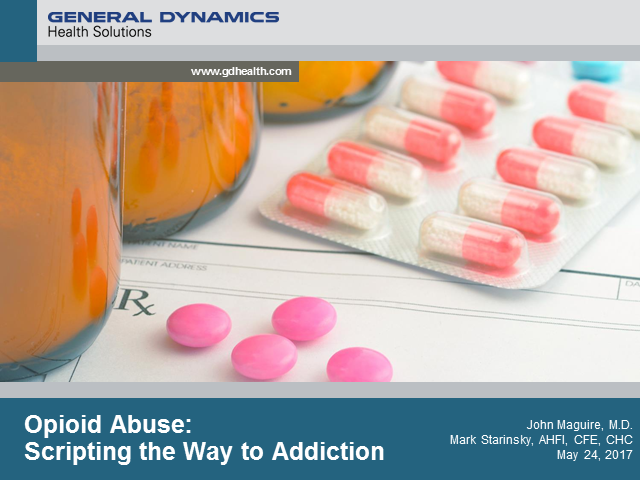 Opioid Abuse: Scripting the Way to Addiction