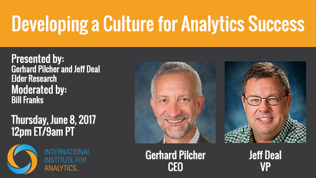 Developing a Culture for Analytics Success