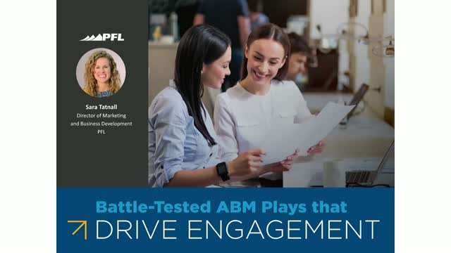 Battle-tested ABM Plays that Drive Engagement