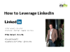 The Secrets to Leverage LinkedIn - What Every IFA Needs to Know