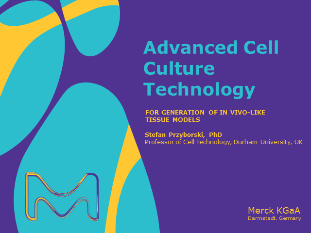 Advanced Cell Culture Technology for Generation of In Vivo-like Tissue Models