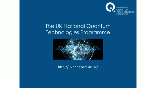 Studentship opportunities with the UK National Quantum Technology Hubs