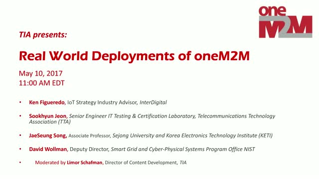 Real World Deployments of the oneM2M Standard