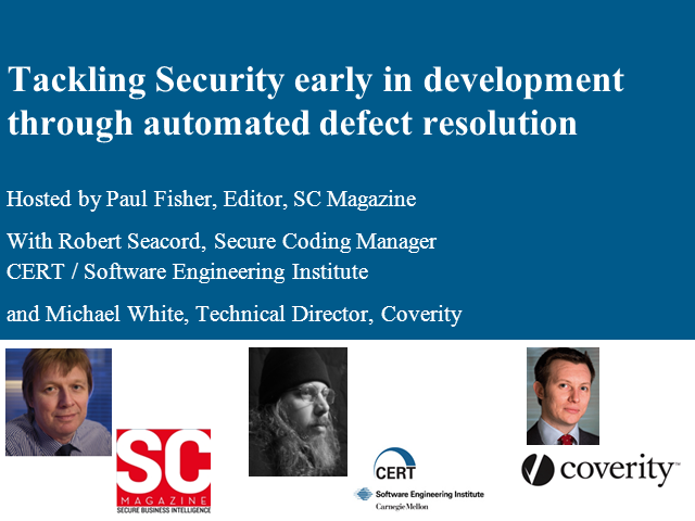 Stamp out costly security defects in software development