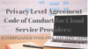 Privacy Level Agreement Code of Conduct for CSPs: a compliance tool for GDPR