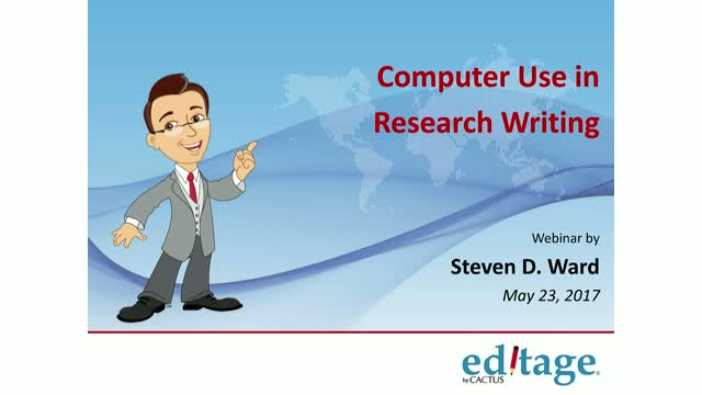Computer Use in Research Writing (English)