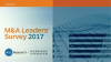 M&A Leaders' Survey from 451 Research and Morrison & Foerster