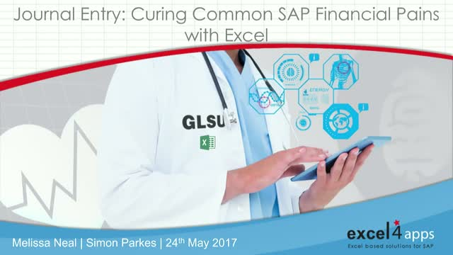 Journal Entry: Curing Common SAP Financial Pains with Excel