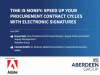Speed Up Your Procurement Cycles with E-signatures.