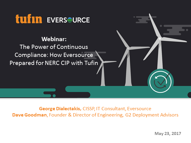 The Power of Continuous Compliance: Eversource Success Story