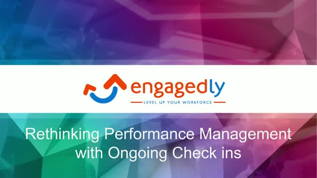 Rethinking Performance Management with Ongoing Check ins