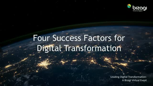 Four Success Factors for Digital Transformation