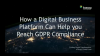 How a Digital Business Platform Can Help You Reach GDPR Compliance