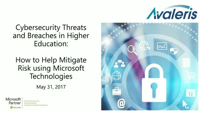 Cybersecurity Threats and Breaches in Higher Education: How to Mitigate the Risk